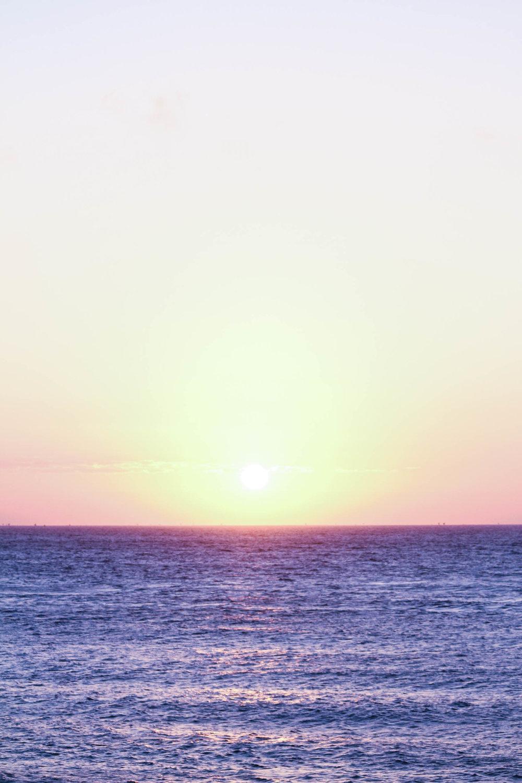 Sunrise on the Bali Sea, Amed.