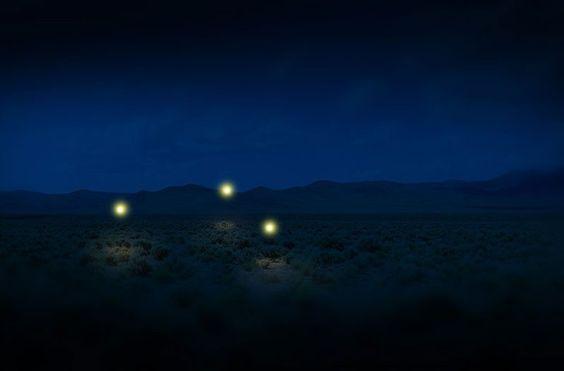Marfa lights.