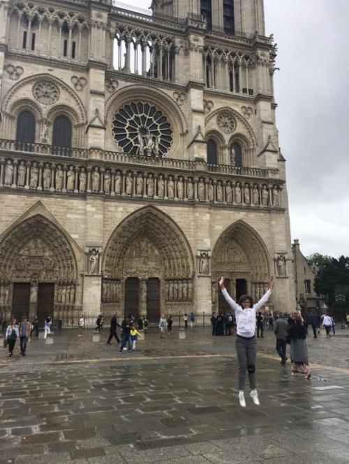 Notre Dame, Paris, July 2017