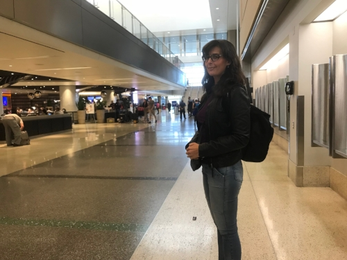 International terminal at LAX. Bye, Zach!