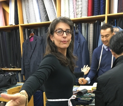Wassup, Roshan!! Getting fitted at Sam's Tailor, Hong Kong.