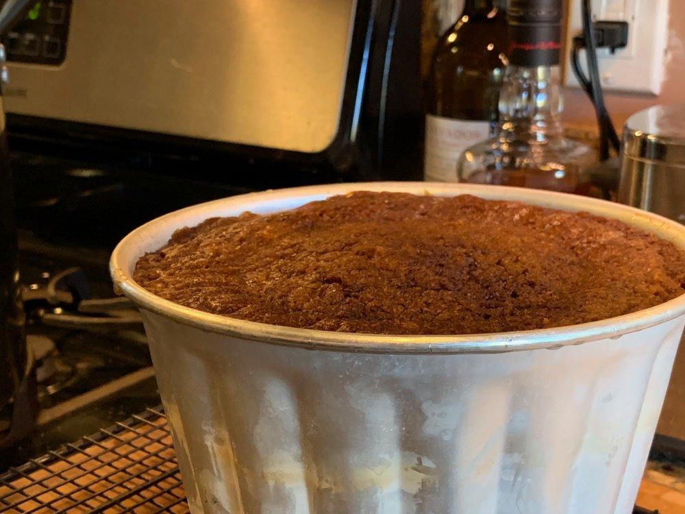 Persimmon Pudding -