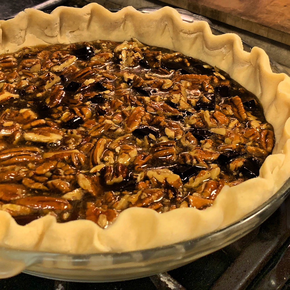Chocolate Pecan Pie -