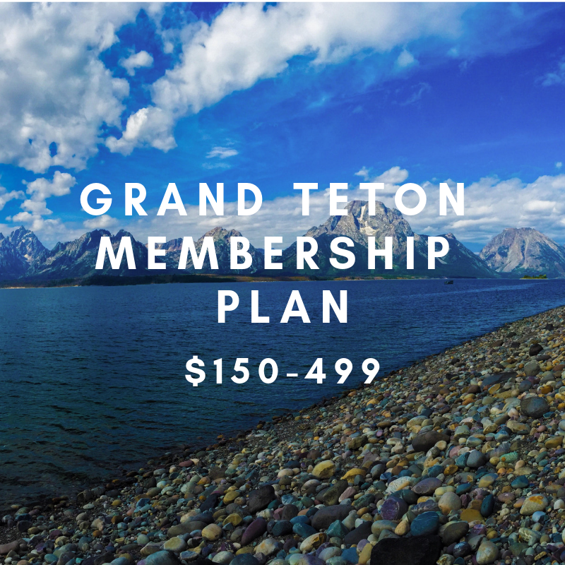 GRAND TETON MEMBERSHIP- $150-499   Your contribution allows us to increase ACC's participation at key national events/conferences, as well as expand our social media reach.