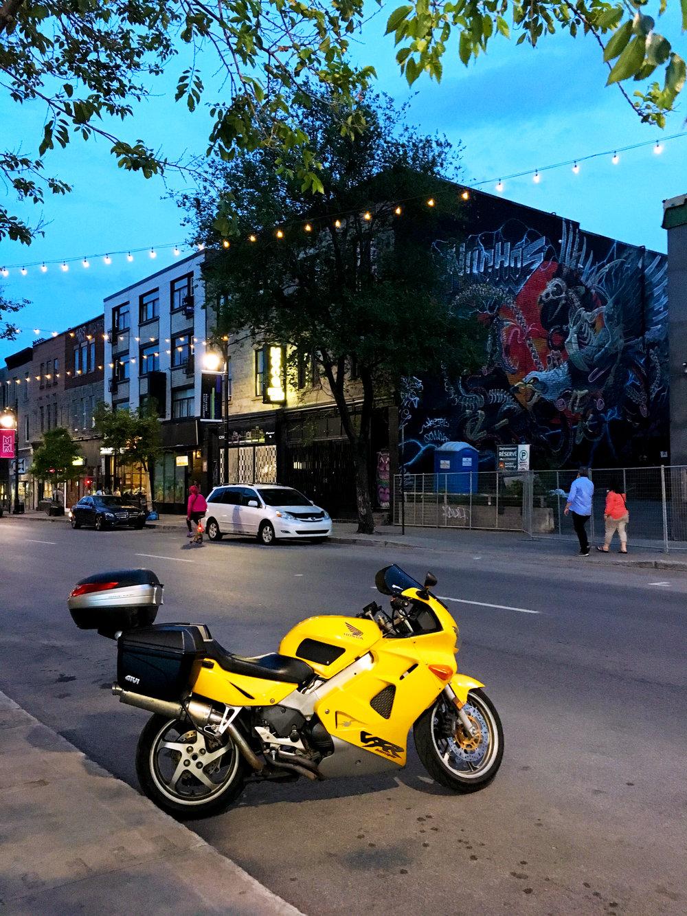 Saint Laurent Boulevard in Montreal