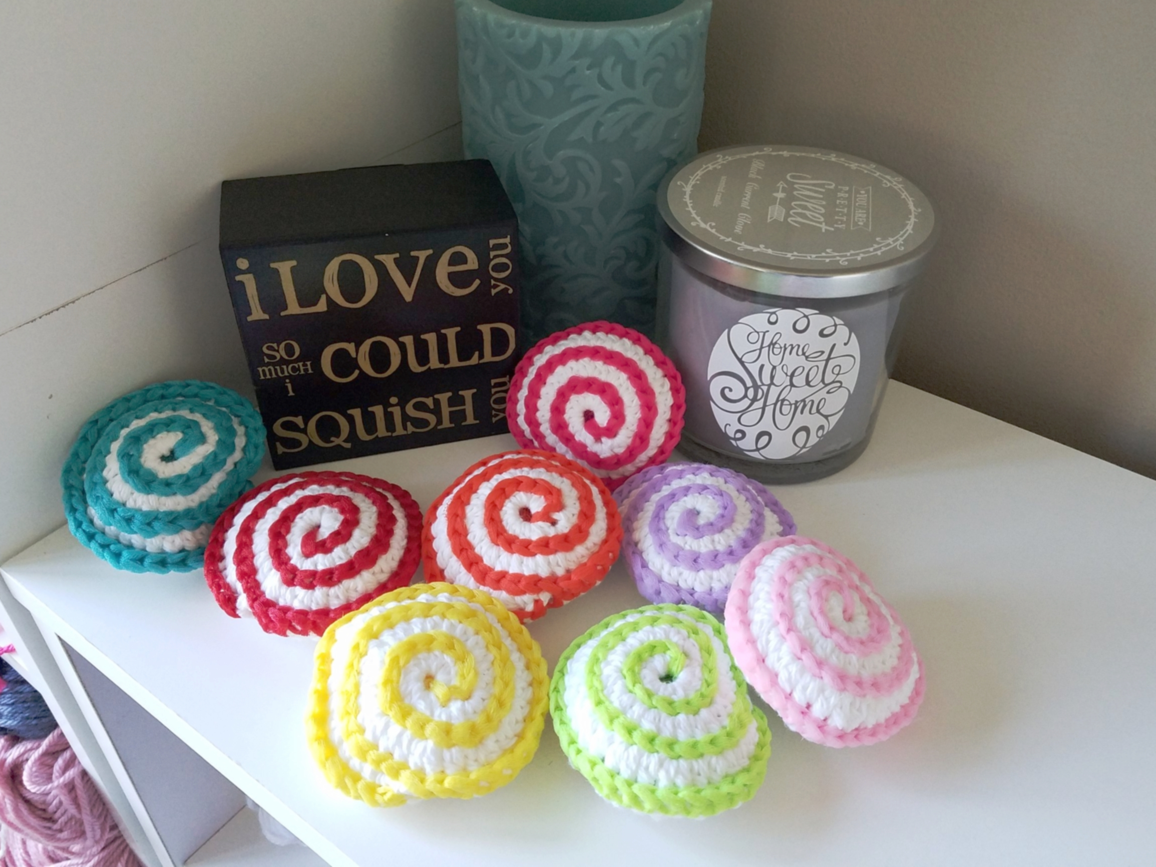 Spiral Dish Scrubbie Triple A Crochet