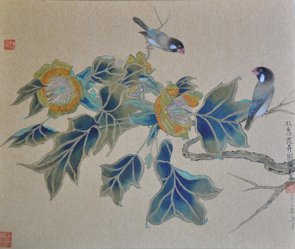 CoupleBirds-双鳥花卉圖.jpg