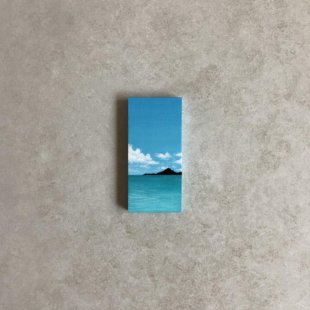 Caribbean Daydream,  Acrylic, 2018
