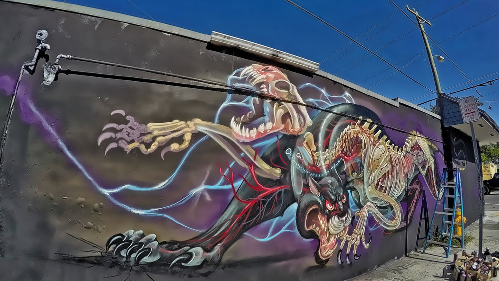 Black Panther by Nychos, in progress