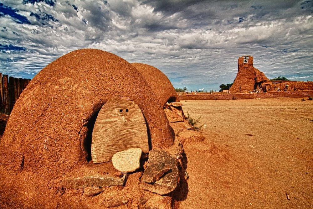 Bread Ovens, Taos Pueblo New Mexico