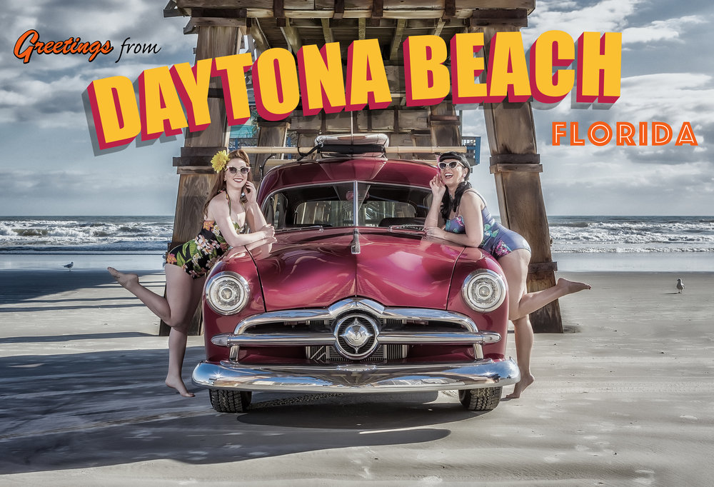 Daytona Beach Postcard