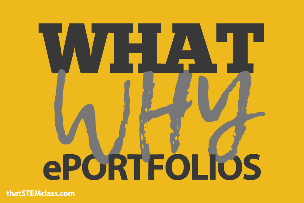 """what"" and ""why"" ePortfolios 