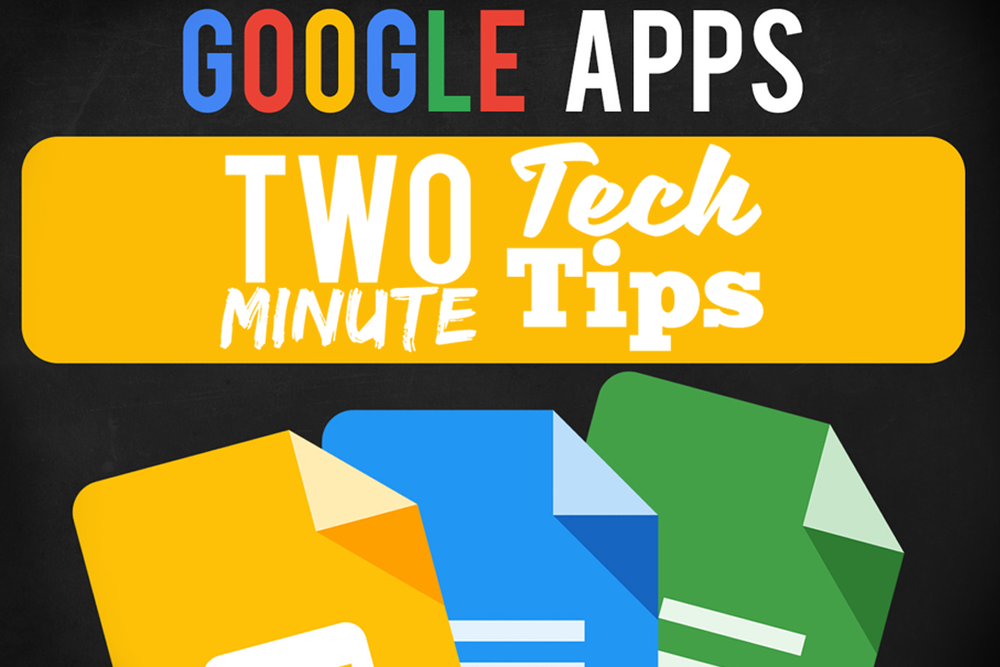 Two Minute Tech Tips | found at thatstemclass.com