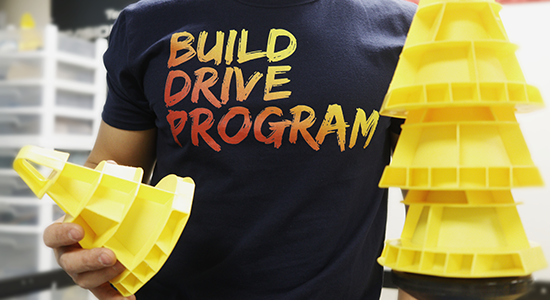 Build Drive Program Robotics Shirt |  thatstemclass.com