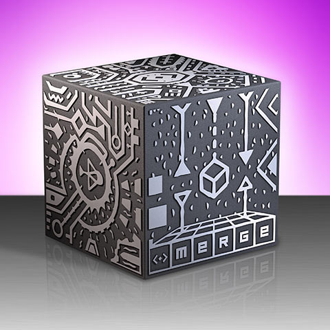 the Merge Cube has 6 unique target sides to attach models -
