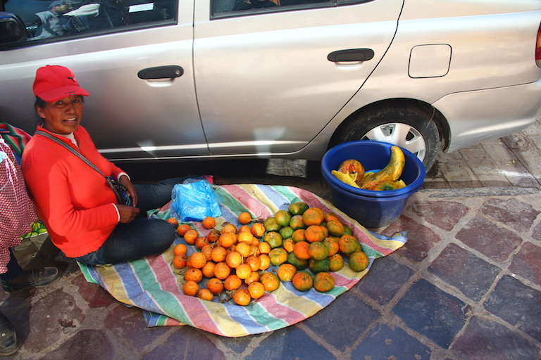 Getting my fruit on while traveling in Peru back in 2012