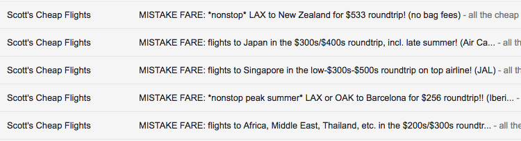 Scotts Cheap Flights