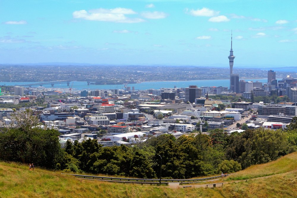 Auckland Skyline from Mount Eden
