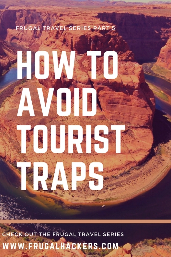 How to Avoid Tourist Traps