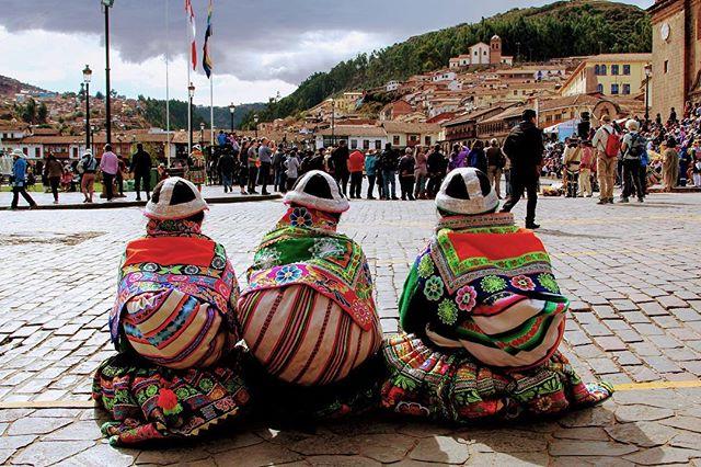 Sunday afternoon in Cusco, Peru