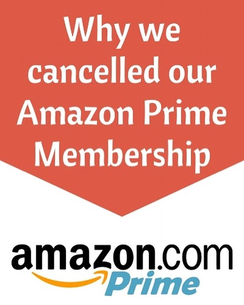 NEW on the blog: Why we cancelled Amazon Prime membership https://www.frugalhackers.com/blog/2017/12/1/why-we-canceled-our-amazon-prime-membership
