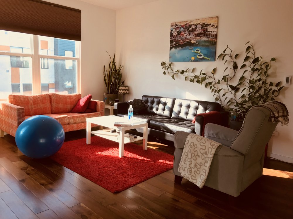 Our Current Apartment Living Room In San Francisco, CA   99% Furnished With  IKEA