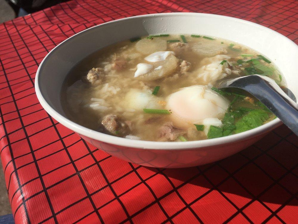 4. Khao Tom - Rice soup