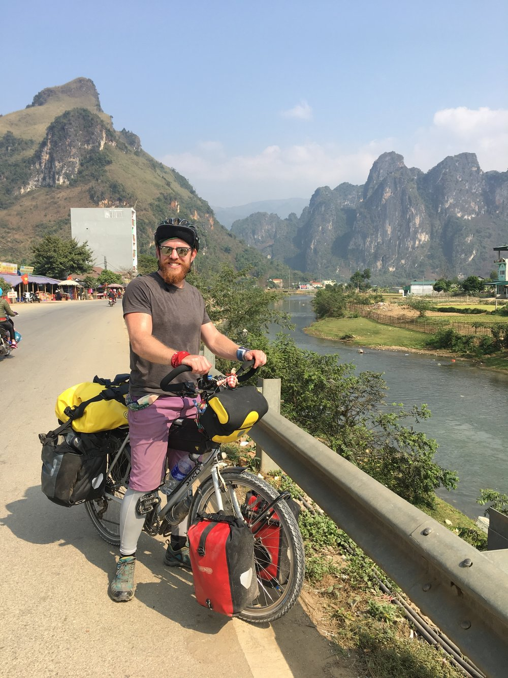 Tuan Giao. Some of the most stunning scenery I've ever seen and been amongst. Even with an achilles in serious trouble you couldn't wipe the smile from my face.