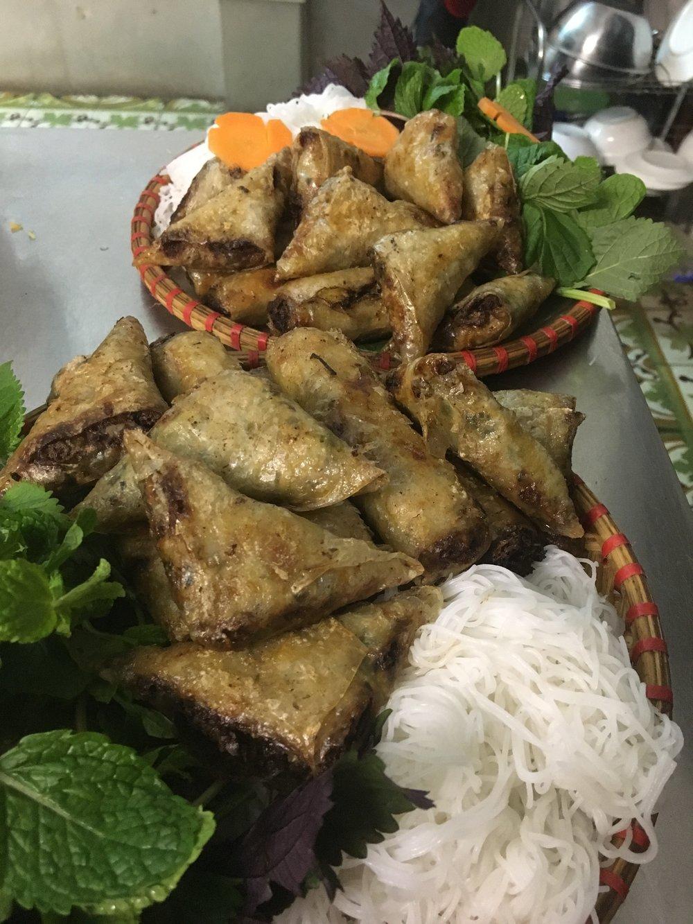 Nem or Hanoi Spring Rolls