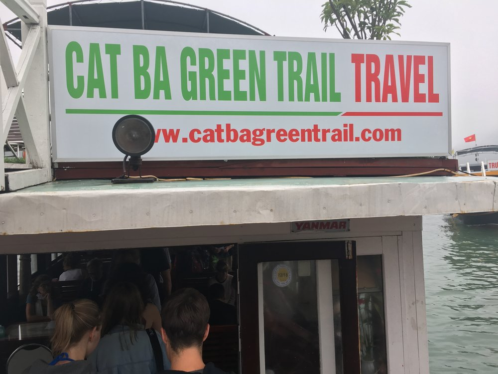 Cat Ba Green Trail for Kayaking and tours around Ha Long Bay