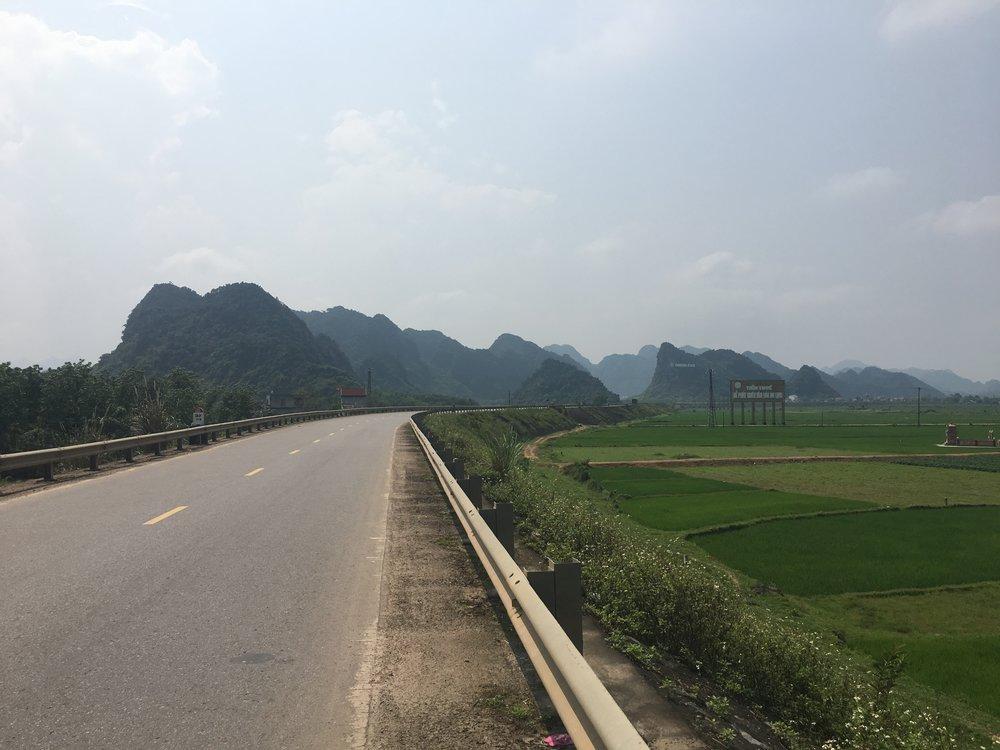 Riding into Phong Nha