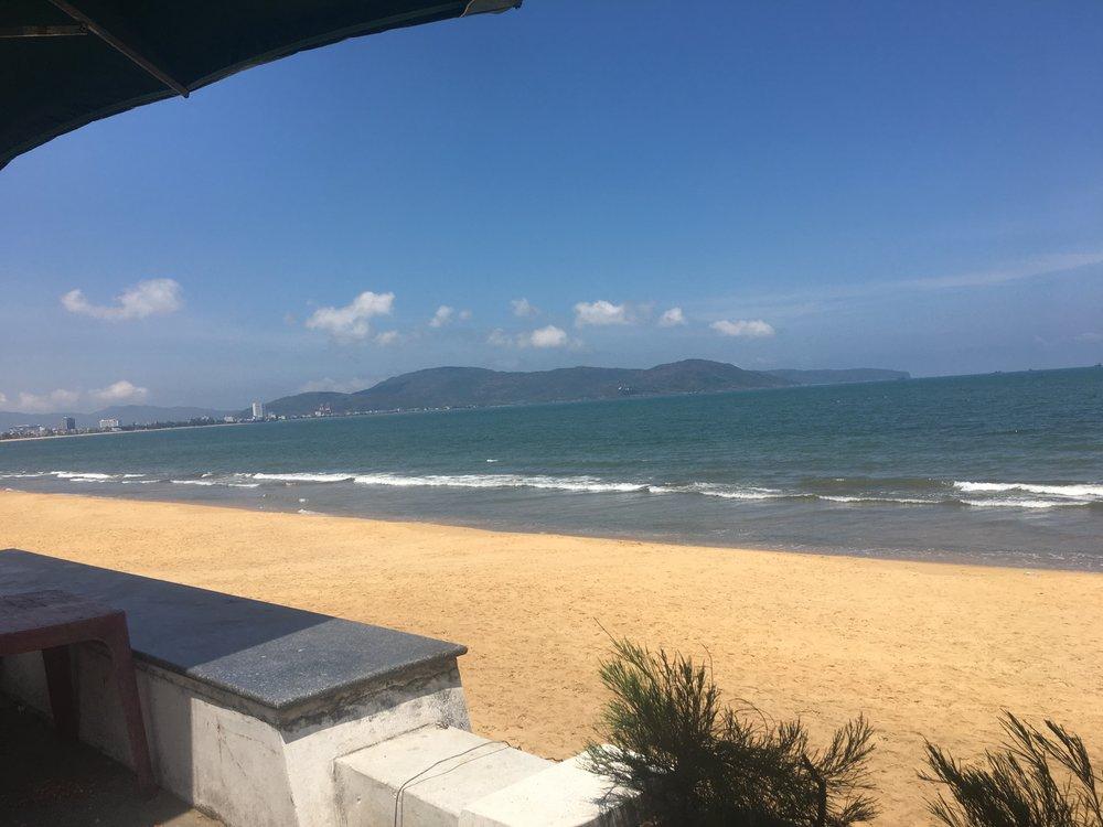 Banh Mi breakfast view from Qui Nhon