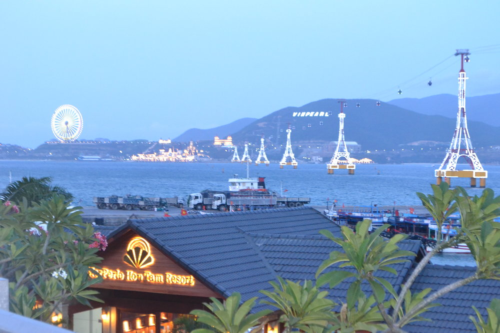Nha Trang VinPearl Resort cable car