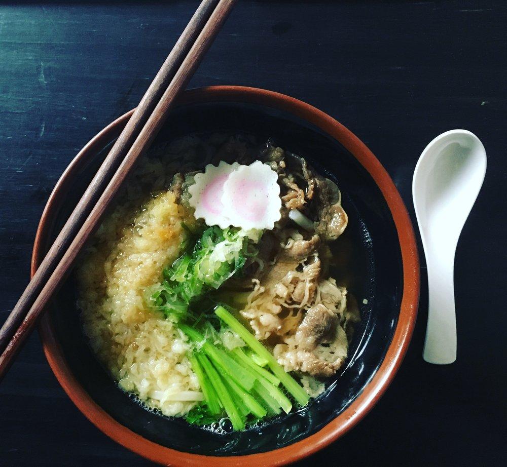 Japanese - Udon noodle soup