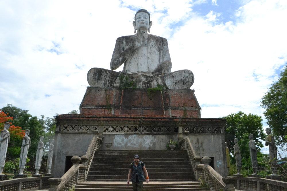 Big Buddha at Ek Phnom