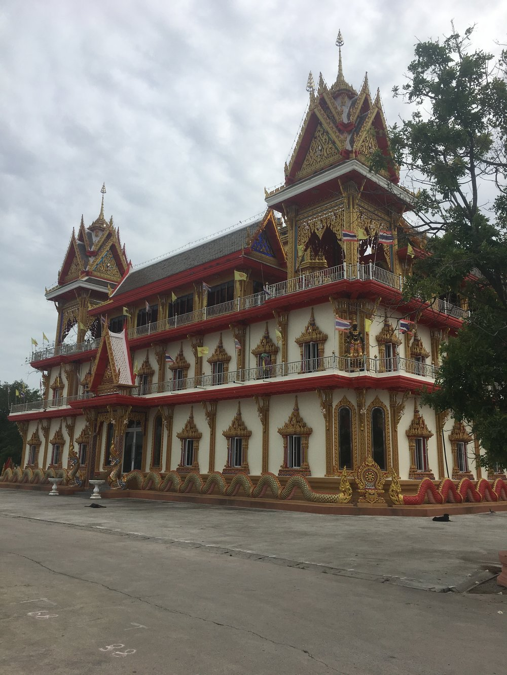 Am amazing temple in Sa Kaeo