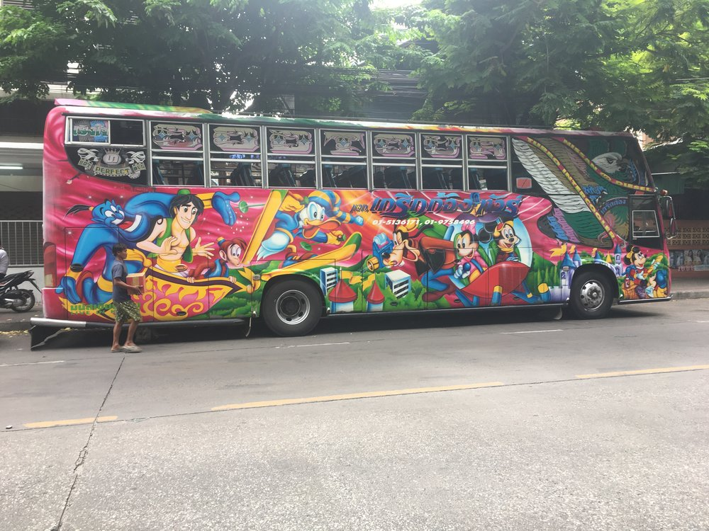 Quite possibly the coolest bus I've ever seen!