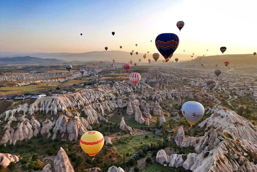Project Kaif - Kaif moment - What is Kaif - Cappadocia, Turkey - ballooning