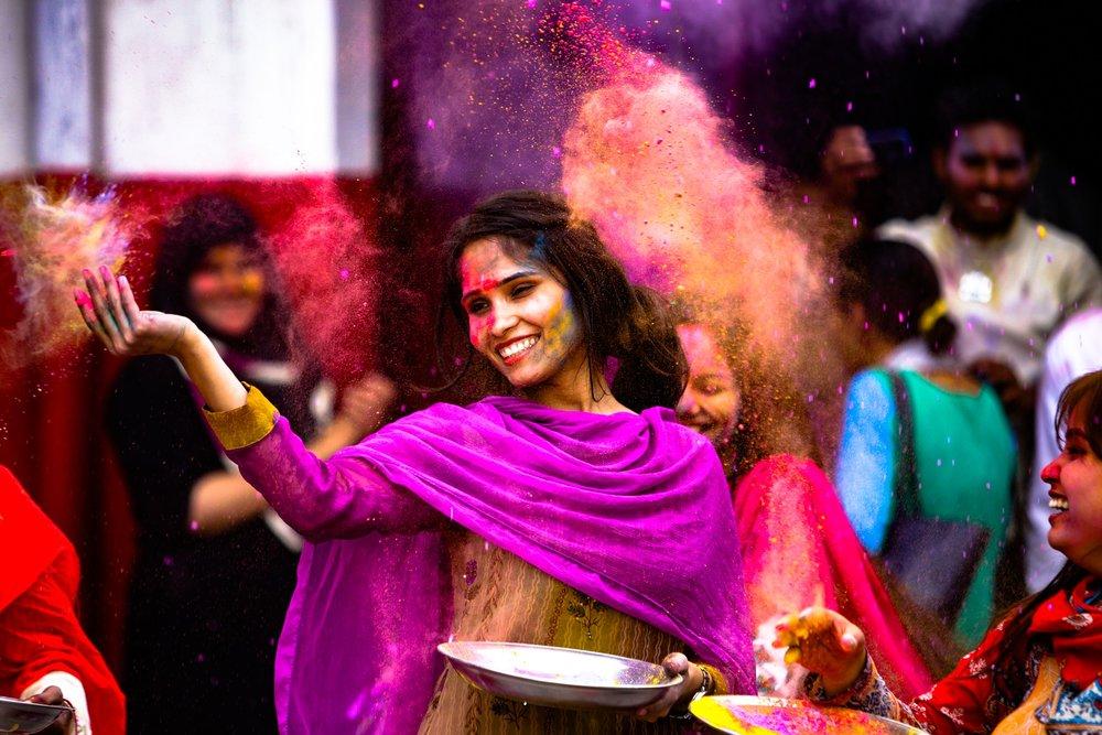 Holi Festival India Travel