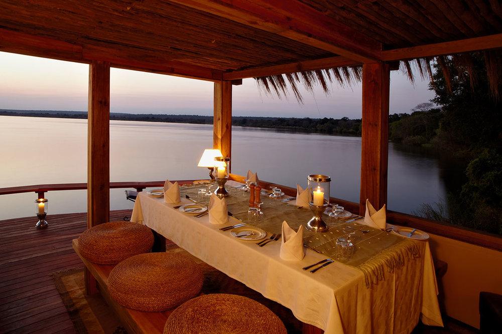 Tongabezi Dining