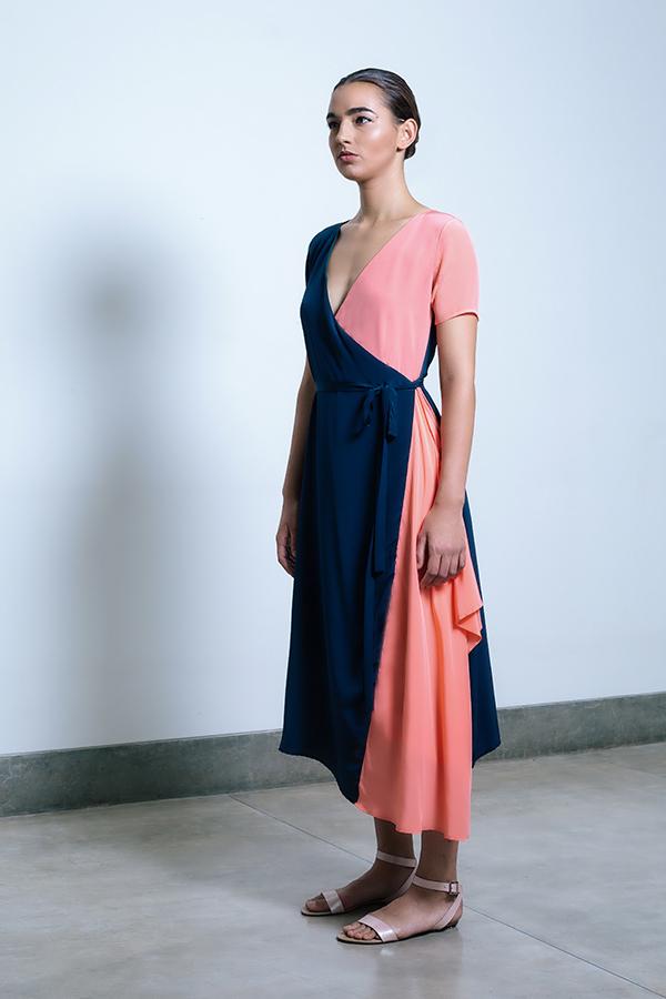 Shaana Wrap dress Midnight Blue_Coral jpg.jpg