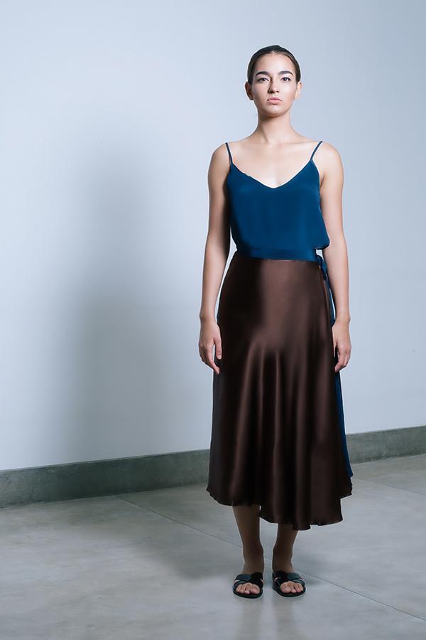 Shaana pareo skirt - chocolate & midnight blue.jpg