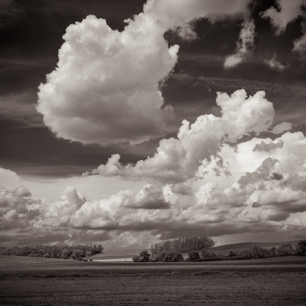 Prairie Clouds I