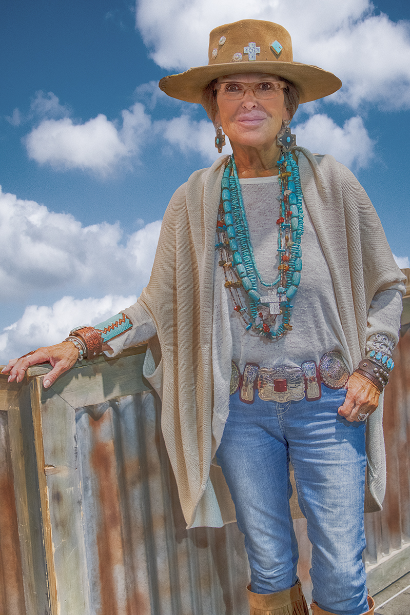 MICHAEL WINTERS_NAVAHO JEWELRY WOMAN.JPG