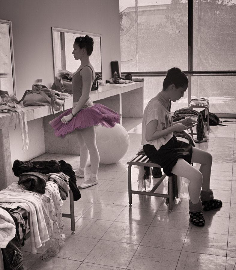 Jill Flyer_Ballet Series 2 B and W D_ At the Mirror.jpg