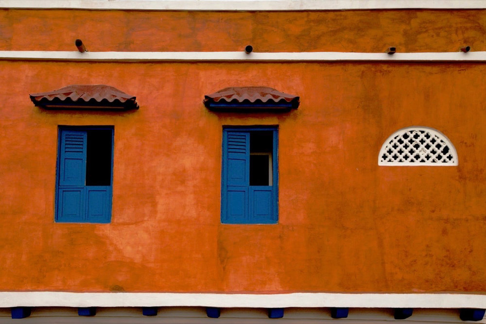 Victoria Herring_Colorful Wall in Cartagena.jpg