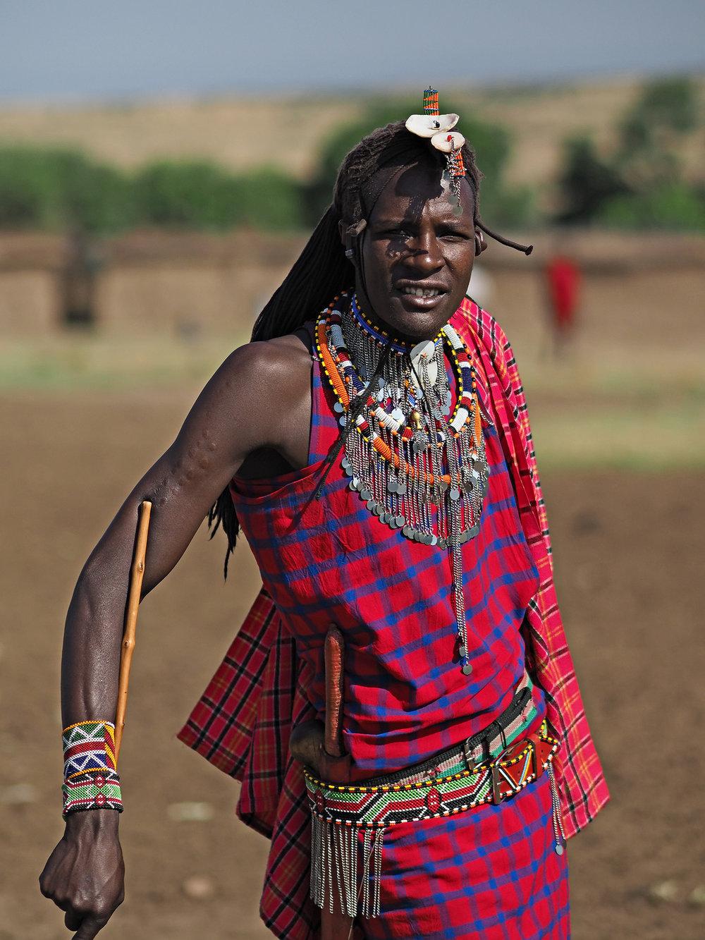 Ranjan_Ramchandani_Portrait of a Masai tribesman.jpg