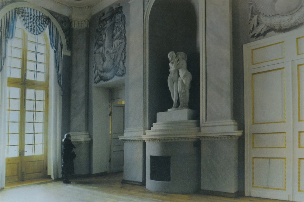Maria_Vinogradova_Alone in a Palace_Daydreaming Museum Attendant_1.jpg