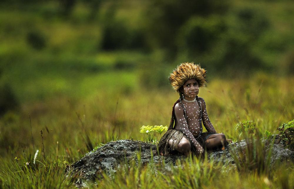 Pamela_Javran_Adik kecil dari suku dhani_4.jpg