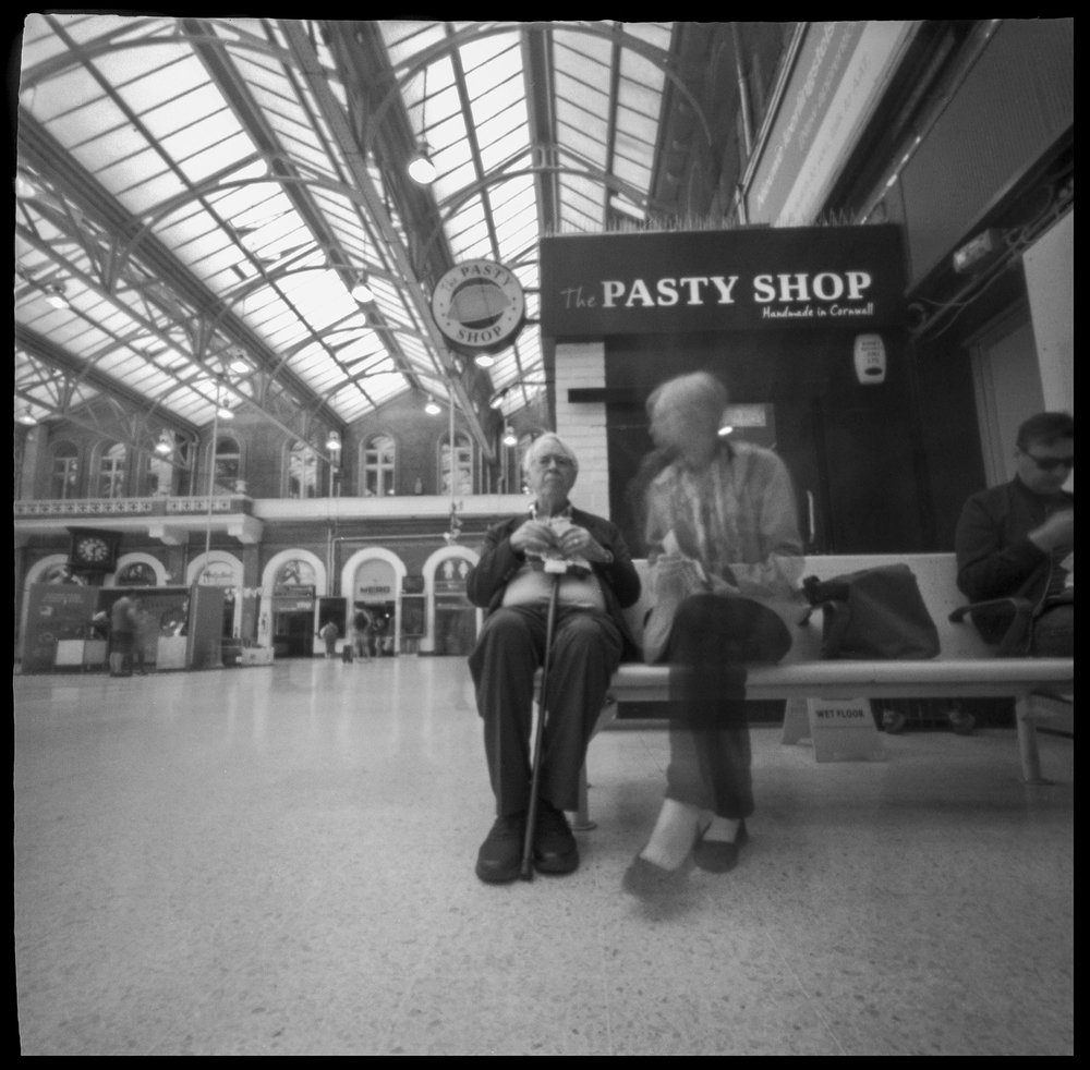 Nancy_Breslin_Pinhole Diary of Eating Out_6-4-17 Lunch at Charing Cross Station London 5 seconds_2.jpg